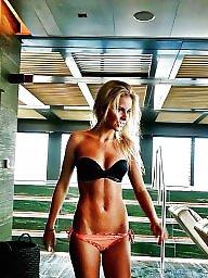 Beach, Young, Teen bikini, Amateur bikini
