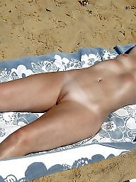 Sunbathing, Mature public