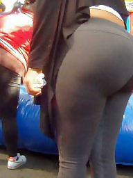 Spandex, Huge ass, Latina ass, Candid, Latina milf, Huge