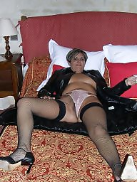 Milf, Mature stocking