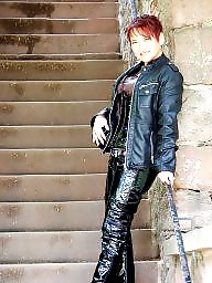 Boots, Pvc, Latex, Leather, Mature boots, Mature latex