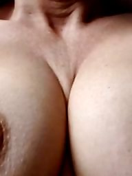 Nipples, Redhead, Big nipples, Flash, Busty mature, Mature flashing