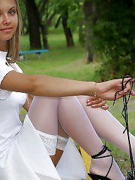 Amateur stockings, Public stockings