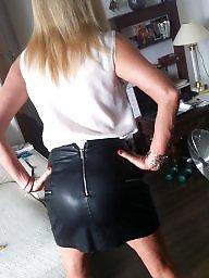 Upskirt, Blonde milf, Milf upskirts