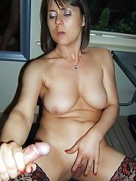 Hand, Mature women, Amateur matures