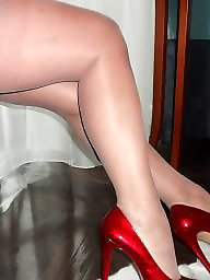 Milf stockings, Leg, Milf legs