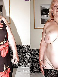 Granny, Mature dress, Dressed undressed, Dress undress, Undressed, Grannies