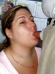Bbw, Facial, Couples, Office, Couple, Bbw blowjob