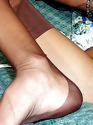 Nylon, Nylons, Sofa, Show, Lady, Vintage nylon