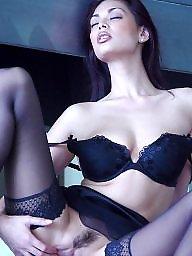 Classy, A bra, Upskirt stockings, Black stocking