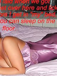 Sissy, Cuckold, Caption, Cuckold captions, Humiliation, Sissy caption