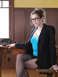 Office, Lady, Miniskirt