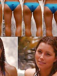 Beach, Bath, Suit, Beach porn