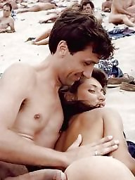 Couple, Nude beach, Nude couples, Public beach