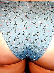 Panties, Panty, Mature panties, Pantie, Mature ass, Milf ass