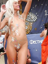 Nudist, Beach, Nudists, Paint, Beach amateur