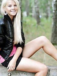 Blonde teen, Beauty, Russian teen