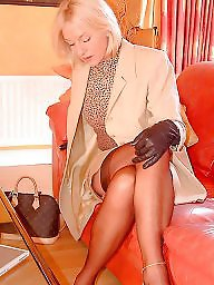Older, Mature lady, Stockings mature, Older mature