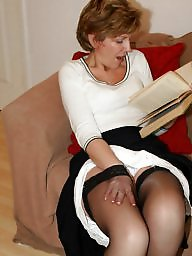 Uk mature, Mature amateur, Stockings mature, Stocking mature