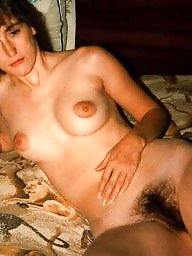 Puffy, Vintage, Vintage hairy, Hairy amateur