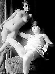 Nude, Vintage hairy