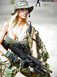 Sexy milf, Sexy lady, Gun