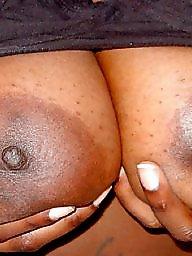 Areola, Bbw ebony, Big nipple