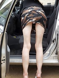 Car, Mature wife, Mature flashing, Cars, Wife car, Mature flash