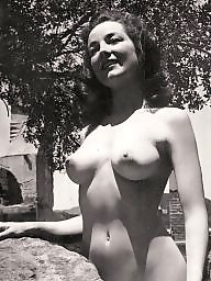Model, Magazine, Models, Vintage tits