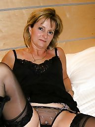 Mature blonde, Blonde mature, Sexy, Sexy milf, Stocking mature, Blondes