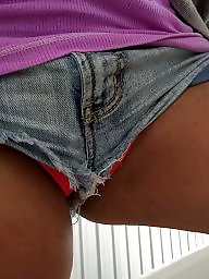 Shorts, Wife ass, Wifes ass, Short shorts, Short