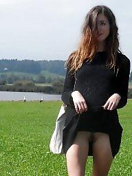 Upskirt, Gals, Upskirt flashing
