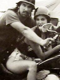 Vintage, Biker, Bikers