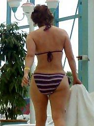 Bikini, Milf, Big ass milf