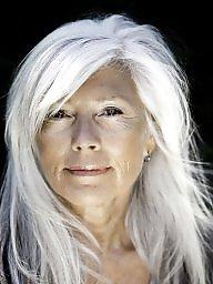 Grannies, Granny mature, Grey, Beautiful mature, Beautiful, Mature beauty
