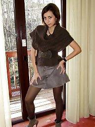 Heels, Amateur stockings