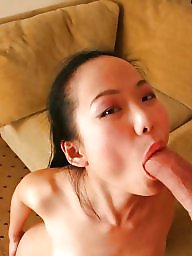 Black cock, Asian blowjob, Interracial blowjob, Asian interracial