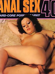 Magazine, Hairy vintage, Hairy anal, Vintage anal