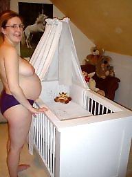 Pregnant, Private, Boob, Pregnant babe