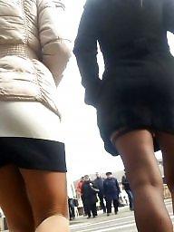 Skirt, Mini skirt, Spy cam
