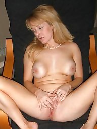 Blonde wife, Milf amateur