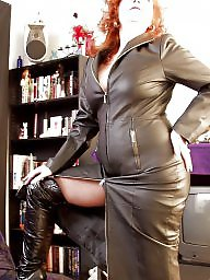 Leather, Latex, Pvc, Mature, Mature leather, Mature latex
