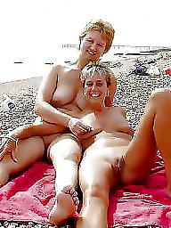 Beach, Old young, Young amateur, Old beach, Old & young