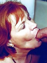 Granny, Grannies, Granny blowjob, Sucking, Mature blowjob, Blowjobs