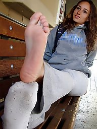 Socks, Teen feet