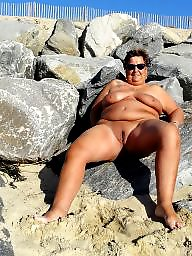 Nudist, Nudists, Mature bbw, Bbw mature, Mature beach, Bbw beach