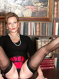 Mature stockings, Stocking mature, Stocking milf