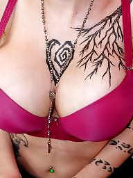 Bra boobs, A bra, Big tits babe