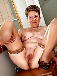 Granny, Grannies, Granny stocking, Granny stockings, Whore, Mature mom