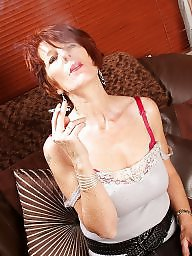 Smoking, Mature redhead, Smoke, Redhead mature, Smoking mature, Mature smoking